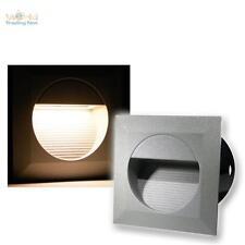 8 x LED Lampade da parete incasso Riflettori Faretto scala Luce a livelli IP65