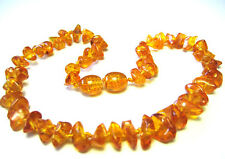 Bella collana di ambra naturale BAMBINI 28-29cm