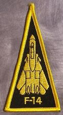 Embroidered Military Patch U S Navy Airplane F-14 Tomcat NEW