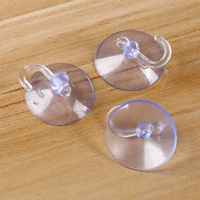 10Pcs/Pack Transparent Wall Hooks Hanger Bathroom Kitchen Suction Cup Suckers