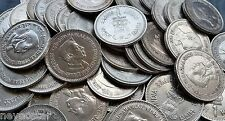 INDIA 1 RUPEE NEHRU CU-NI 50 PIECES SUPER CONDITION (AS A PIC) COINS