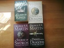 Game of Thrones -Tomes 1,2 AFTER.2 BLOOD - George RR MARTIN - Poches en anglais