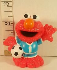Sesame Street Workshop Figure Elmo playing Soccer Hasbro PVC Toys 2011