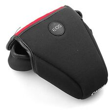 Soft DSLR Camera Bag Case Cover For Canon EOS 1200D Rebel T5 18-55mm Lens