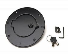 Rampage Locking Fuel Door 97-06 Jeep Wrangler TJ LJ 85006 Black