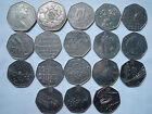 50p pence Commemorative, Regional & Olympic Rare Collectible Coins