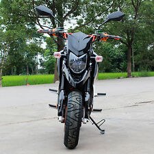 YD SWIFT-E 2000W Brushless Electric Motorcycle Moped Scooter BLACK