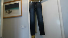 USA True Religion GIRL'S CASEY naturale SLIM FIT ROCKSTAR Stella Jeans W25 & L32