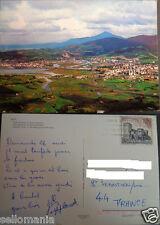 POSTAL DE IRUN . AL FONDO HENDAYA . GUIPUZCOA . PAIS VASCO .MAS EN TIENDA CC3277