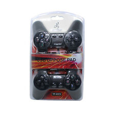 2x1 mando cable usb pc consolas play station 3 ps3 juegos ordenador plug & play