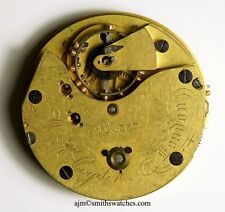 W R COGDON LONDON FREESPRUNG ENGLISH LEVER POCKET WATCH MOVEMENT REPAIRS TT50