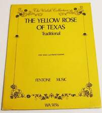 Partition sheet music THE YELLOW ROSE OF TEXAS (Traditional) * 70's Guitar