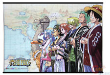 One Piece Wall Scroll Silk Screen Poster Fabric Banner Group Crew GE5815