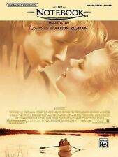 The Notebook (Main Title) (from the Notebook) : Piano/Vocal/Chords, Sheet...