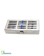 Sterilization Stainless Cassette Tray Rack of 5 Dental or Surgical Instruments