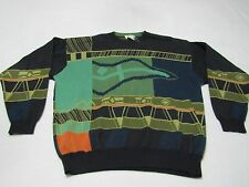 MENS VINTAGE HUGO BOSS COSBY SWEATER SIZE 44 MADE IN WEST GERMANY GREAT SHAPE