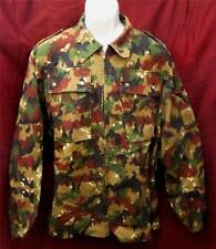 Swiss Military Surplus Item - M83 Alpenflage Camo Army Jacket - Tag size 52 - LG
