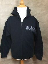HARRY POTTER Black Logo HOODIE SWEATSHIRT JACKET Kids Youth S Small EXHIBITION