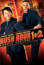 Rush Hour 1 & 2 Disc - 2-Pack (DVD, 2009)