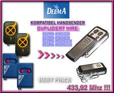 DELMA MIZAR1CH, DELMA MIZAR2CH 433,92MHz Kompatibel handsender / Ersatz / Klone