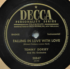 Tommy Dorsey Falling in Love with 78 Instrumental Voices I Wonder Who's Kissing
