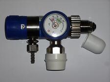 """GCE Mediline Mediselect II O2 Druckminderer Bullnose BSP G58"""" G5/8 Sauerstoff"""