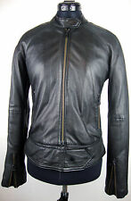 CLOSED Leather Jacket Black Lederjacke Damen Jacke Schwarz Gr.S NEU mit ETIKETT