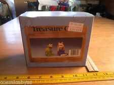 Kermit and Miss Piggy Salt and pepper shakers MIB Treasure Craft Muppets