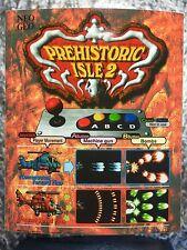 Prehistoric Isle 2 Neo Geo Mini Arcade Marquee