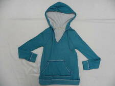 Roxy Women Sweater Jacket Small Hoodies First Breath Turquoise Blues
