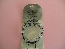 10mm Shamballa Gemstone ROCK QUARZO (CRISTALLO Bracciale)