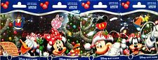 NEW Disney Gift Card Christmas Holiday Ornament Pin Set of 4 Mickey Minnie 2013