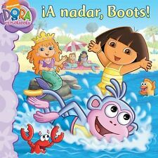 ¡A nadar, Boots! (Swim, Boots, Swim!) (Dora the Explorer 8x8) (Spanish-ExLibrary