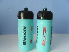 BIANCHI WATER BOTTLE CELESTE CORSA BIO TEAM   by ELITE x 2