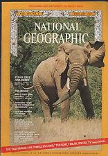 February 1969 NATIONAL GEOGRAPHIC Magazine KENYA