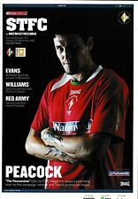 Football Programme SWINDON TOWN v MK DONS Sept 2006