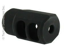 M110 MUZZLE BRAKE FOR RUGER 10/22 BULL BARRELS THREADED 1/2-28tpi & CRUSH WASHER