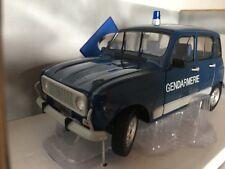 Renault 4l turbo gendarmería 1:18 solido nuevo & OVP