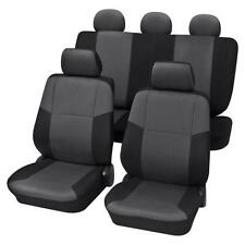 Charcoal Grey Premium Car Seat Cover set - For VW  GOLF VI 2008 to 2013