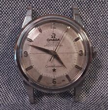 Omega Constellation Vintage Stainless Steel Automatic Wrist Watch, Pie Pan Dial