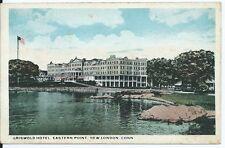 Postkarte - Griswold Rathaus, Östliche stelle, New London, Conn