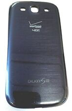BLUE   Verizon  Genuine OEM Back Battery Door Cover Samsung Galaxy S3 i535 S III