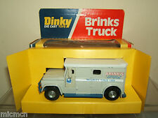 "DINKY TOY'S  MODEL No.275    ""BRINKS""   ARMOURED CAR  *U.S. ISSUE *   VN MIB"