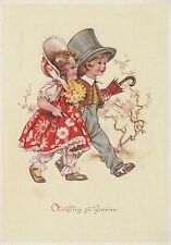 Postkarte - Kinder in Hochzeitskleidung