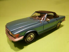 POLISTIL S86 MERCEDES BENZ 450 SL CONVERTIBLE - BLUE 1:25 - VERY GOOD CONDITION