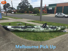 Jetocean 4.2M 14ft Single Sit-On Fishing Kayak with Paddle and Seat