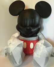 Disney X Coach Mickey Large Plush Limited Edition 34 of 60 Leather New With Tags