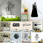 Removable Star Wars Vinyl Wall Art Sticker Kids room Decor Decal Mural Wallpaper