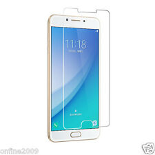 Tempered Glass Screen Protector Protective Film Cover For Samsung Galaxy C7 Pro