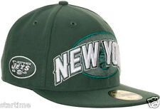 NEW YORK JETS new NFL DRAFT DAY PLAYER SIDELINE FITTED HAT CAP 7 3/8 $35